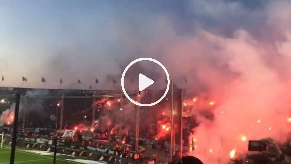 'PAOK taraftarının şampiyonluk sevinci