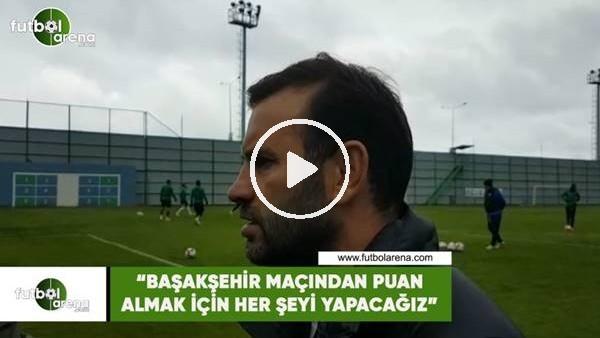 """'Okan Buruk: """"Başakşehir maçından puan almak için her şeyi yapacağız"""""""