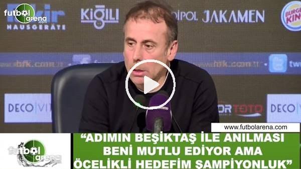 Abdullah Avcı'dan Beşiktaş açıklaması