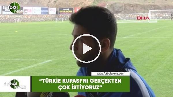 """'Bülent Cevahir: """"Türkiye Kupası'nı gerçekten isityoruz"""""""