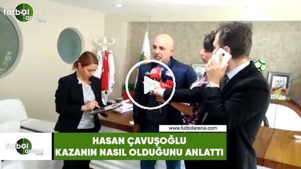 """Hasan Çavuşoğlu kazayı anlattı: """"Şoförler uyumuş"""""""