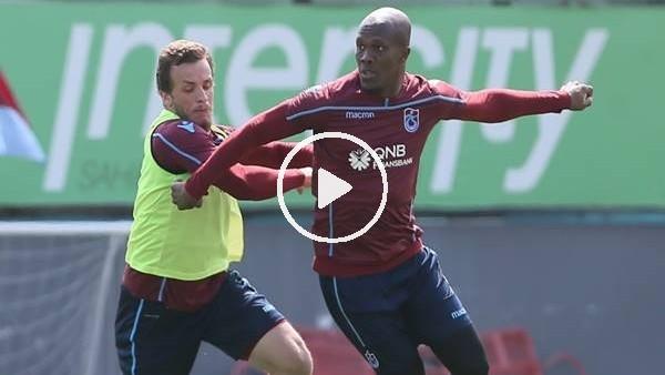 Trabzonspor, Antalyaspor maçı öncesi taktik çalıştı