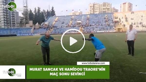 'Murat Sancak ve Hamidou Traore'nin maç sonu sevinci