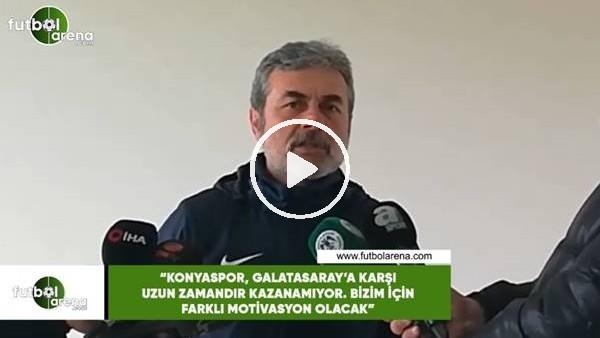 """'Aykut Kocaman: """"Galatasaray maçı bizim için farklı motivasyon olacak"""""""