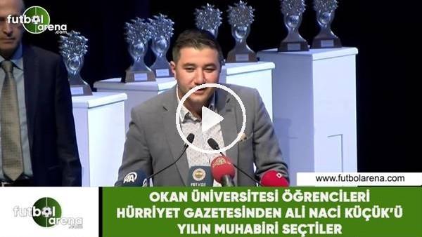 'Yılın muhabiri Ali Naci Küçük seçildi