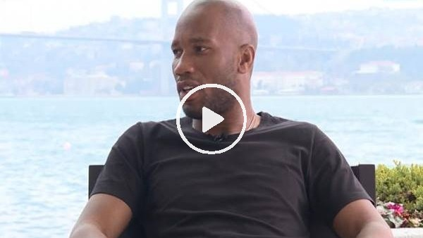 Didier Drogba, TRT Spor'a konuştu