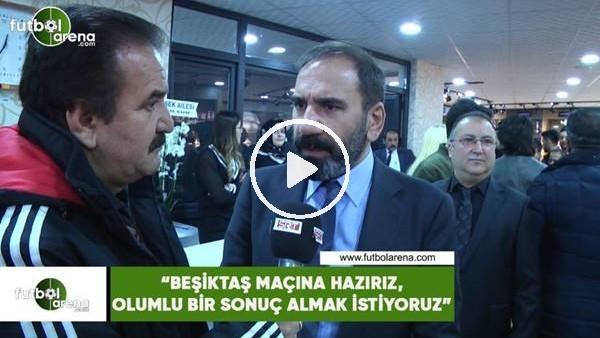 """'Mecnun Otyakmaz: """"Beşiktaş maçına hazırız, olumlu bir sonuç almak istiyoruz"""""""
