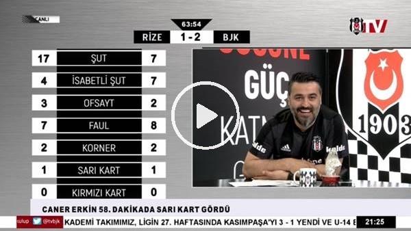 Burak Yılmaz'ın golünde BJK TV spikerleri