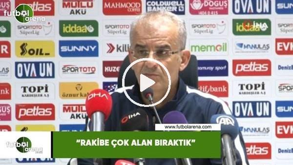 """Ercan Kahyaoğlu: """"Rakibe çok alan bıraktık"""""""