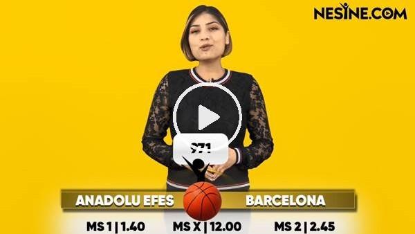 'Anadolu Efes - Barcelona maçı Nesine'de! TIKLA & OYNA