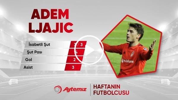 Aytemiz ile haftanın futbolcusu Adem Ljajic seçildi