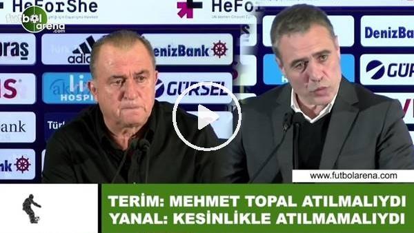 """Fatih Terim ve Ersun Yanal'ın """"Mehmet Topal"""" polemiği"""