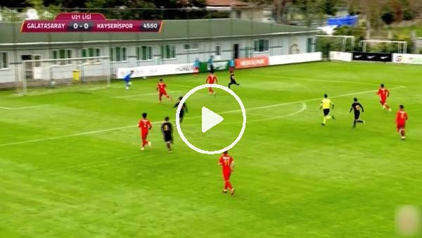 'Çekdar Orhan'ın Kayserispor'a attığı gol