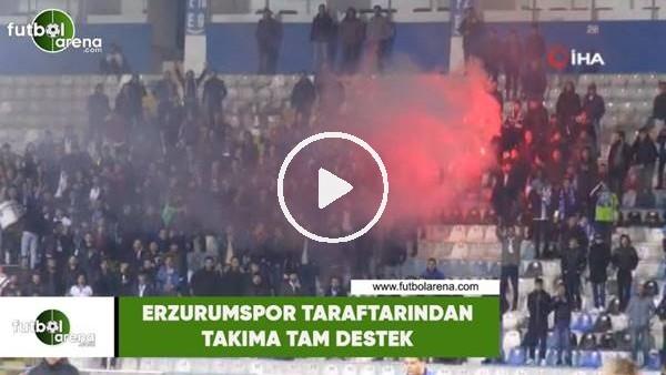 'Erzurumspor taraftarından takıma tam destek