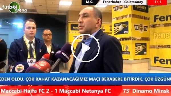 """Semih Özsoy: """"Galatasaray bizi Kadıköy'de yenemeyecek"""""""