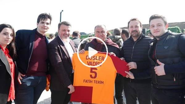 'Galatasaray teknik heyeti, futbolcular ve aileleri Riva'da buluştu