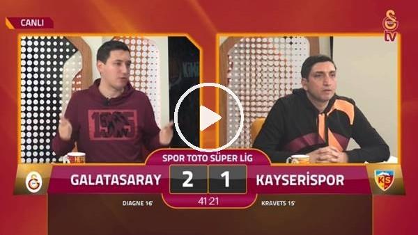 Diagne'nin 2. golünde GS TV spikerleri