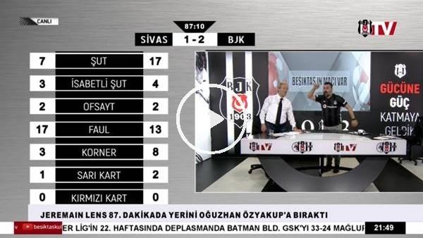 'Burak Yılmaz'ın frikik golü BJK TV spikerlerini coşturdu