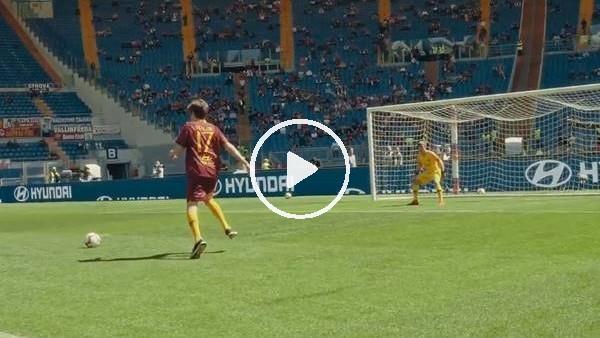 """'Cengiz Ünder'in golü için """"Ben de atarım"""" yorumunu yapan taraftar aynı golü atmaya çalıştı"""