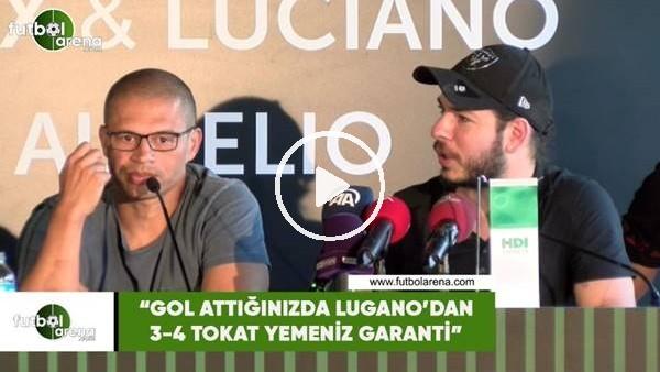 """'Alex de Souza: """"Gol attığınızda Lugano'dan 3-4 tokat yemeniz garanti"""""""