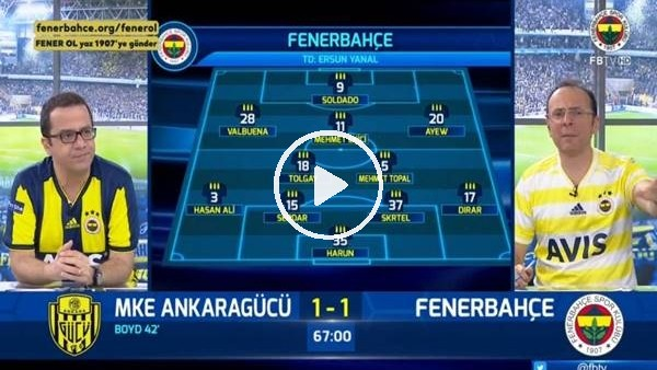 Hasan Ali Kaldırım'ın golünde FB TV spikerleri