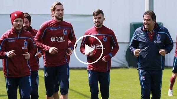 Trabzonspor, Bursaspor maçının hazırlıklarına ara vermeden başladı