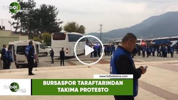 'Bursaspor taraftarından takıma protesto