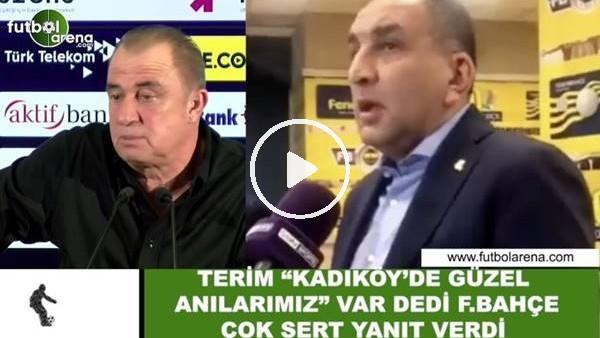 """Fatih Terim, """"Kadıköy'de güzel anılarımız"""" var dedi, Fenerbahçe çok sert cevap verdi"""