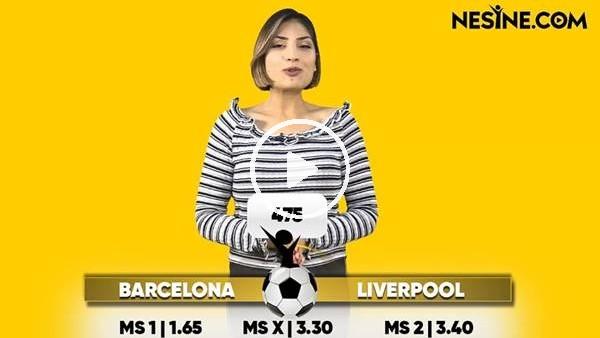'Barcelona - Liverpool TEK MAÇ Nesine'de!