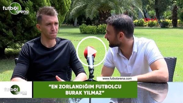 """Muslera: """"En zorlandığım futbolcu Burak Yılmaz"""""""