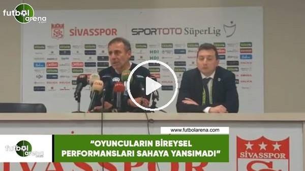 """Abdullah Avcı: """"Oyuncuların bireysel performansları sahaya yansımadı"""""""