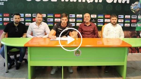 'Aytemiz Alanyaspor, Marafona ile ilk transferini yaptı