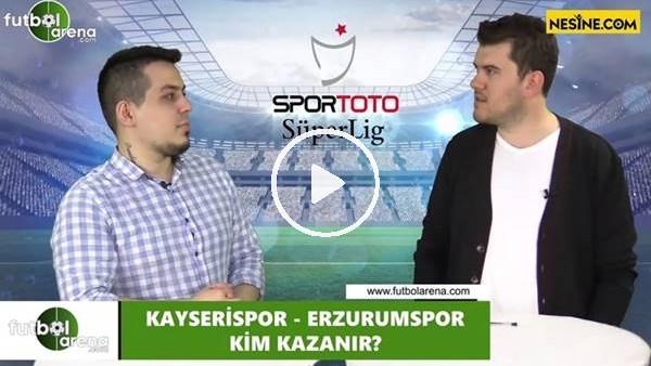 'Kayserispor - Erzurumspor maçını kim kazanır?
