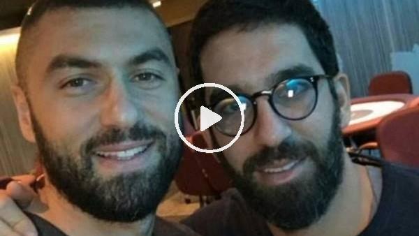 """'Arda Turan ve Burak Yılmaz'dan """"yaz dostum"""" şarkısı"""