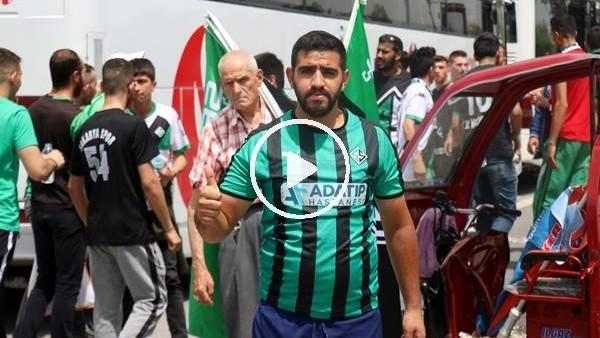 '1. Lig yolunda Sakaryalı 25 bin taraftar Bursa'ya akın etti