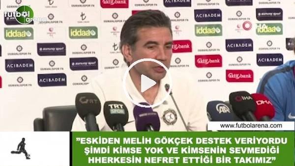 """Osman Özköylü: """"Eskiden Melih Gökçek destek veriyordu şimdi kimse yok"""""""