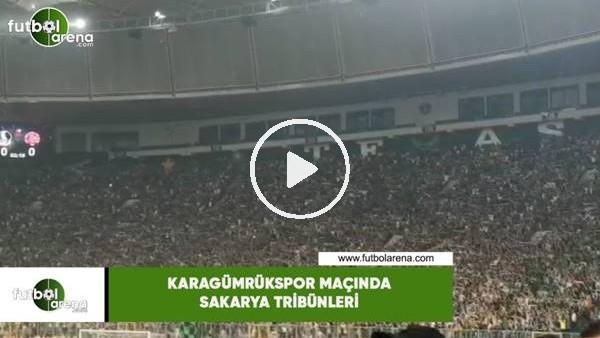 'Karagümrük maçında Sakarya tribünleri