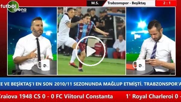 "'Memed Toygar: ""Trabzonspor'un orta sahası Beşiktaş'ı perişan etti"""