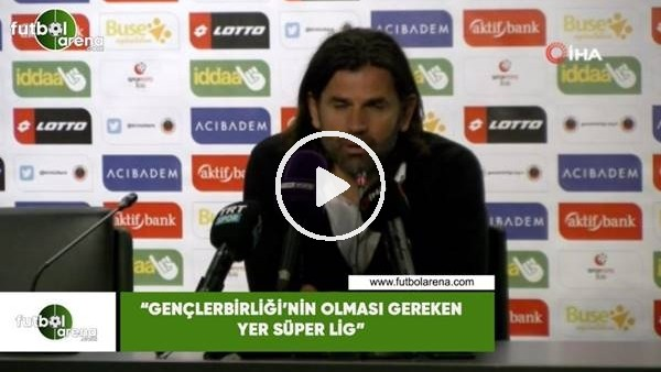 """'İbrahim Üzülmez: """"Gençlerbirliği'nin olması gereken yer Süper Lig"""""""