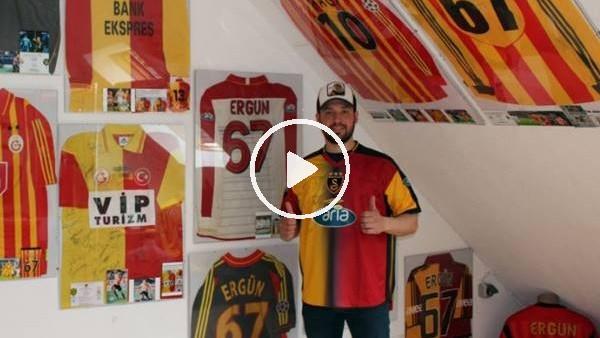 Gurbetçi taraftarın Galatasaray aşkı