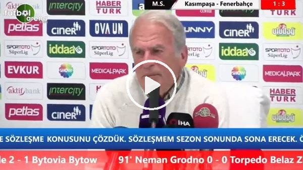 """Mustafa Denizli: """"Devre arası transferde süre kaybettik"""""""