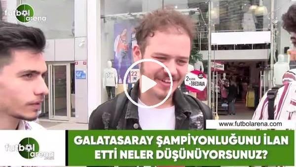'Galatasaray şampiyonlğunu ilan etti! Neler düşünüyorsunuz?