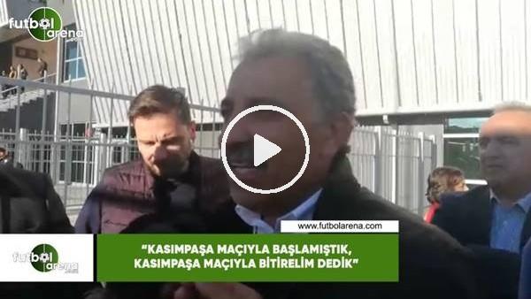 """'Erol Bedir: """"Kasımpaşa maçıyla başlamıştık Kasımpaşa maçıyla bitirelim dedik"""""""