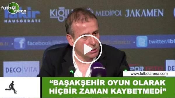 """Abdullah Avcı: """"Başakşehir oyun olarak hiçbir zaman kaybetmedi"""""""