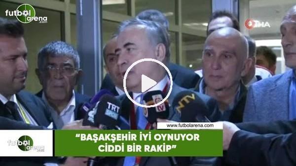 """Mustafa Cengiz: """"Başakşehir iyi oynuyor ciddi bir rakip"""""""