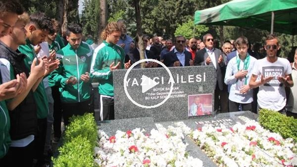 Bursaspor'da İbrahim Yazıcı anıldı
