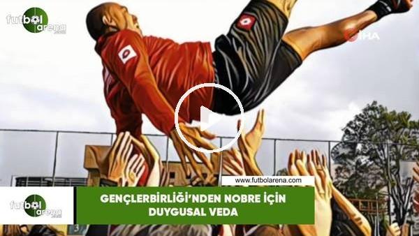 'Gençlerbirliği'nden Nobre için duygusal veda