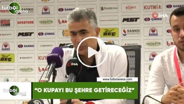 """Mehmet Altıparmak: """"O kupayı bu şehre getireceğiz"""""""