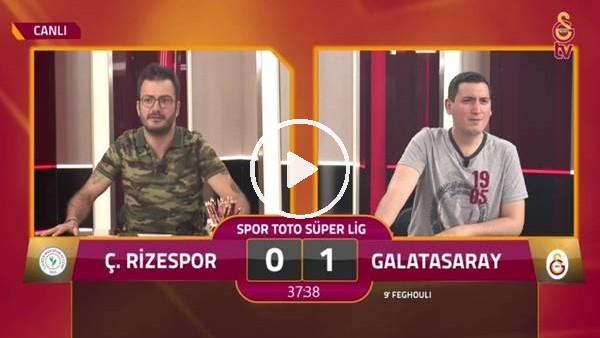Diagne'nin kaçırdığı penaltıda GS TV spikerleri