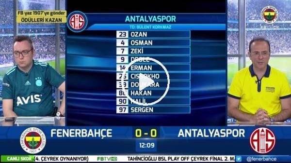 'Miha Zajc'ın golünde FB TV spikerleri